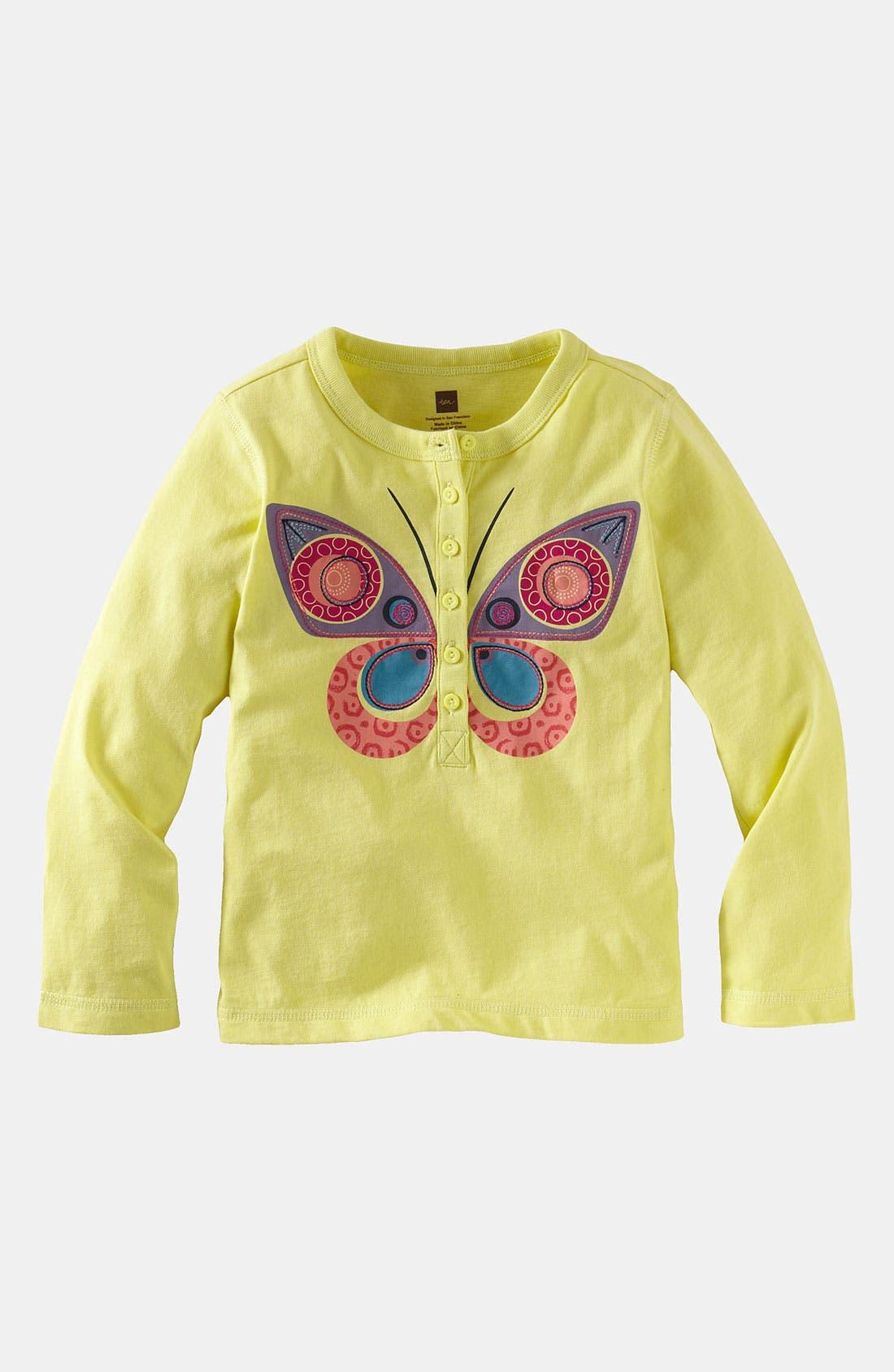 Main Image - Tea Collection 'Butterfly' Tee (Little Girls & Big Girls)