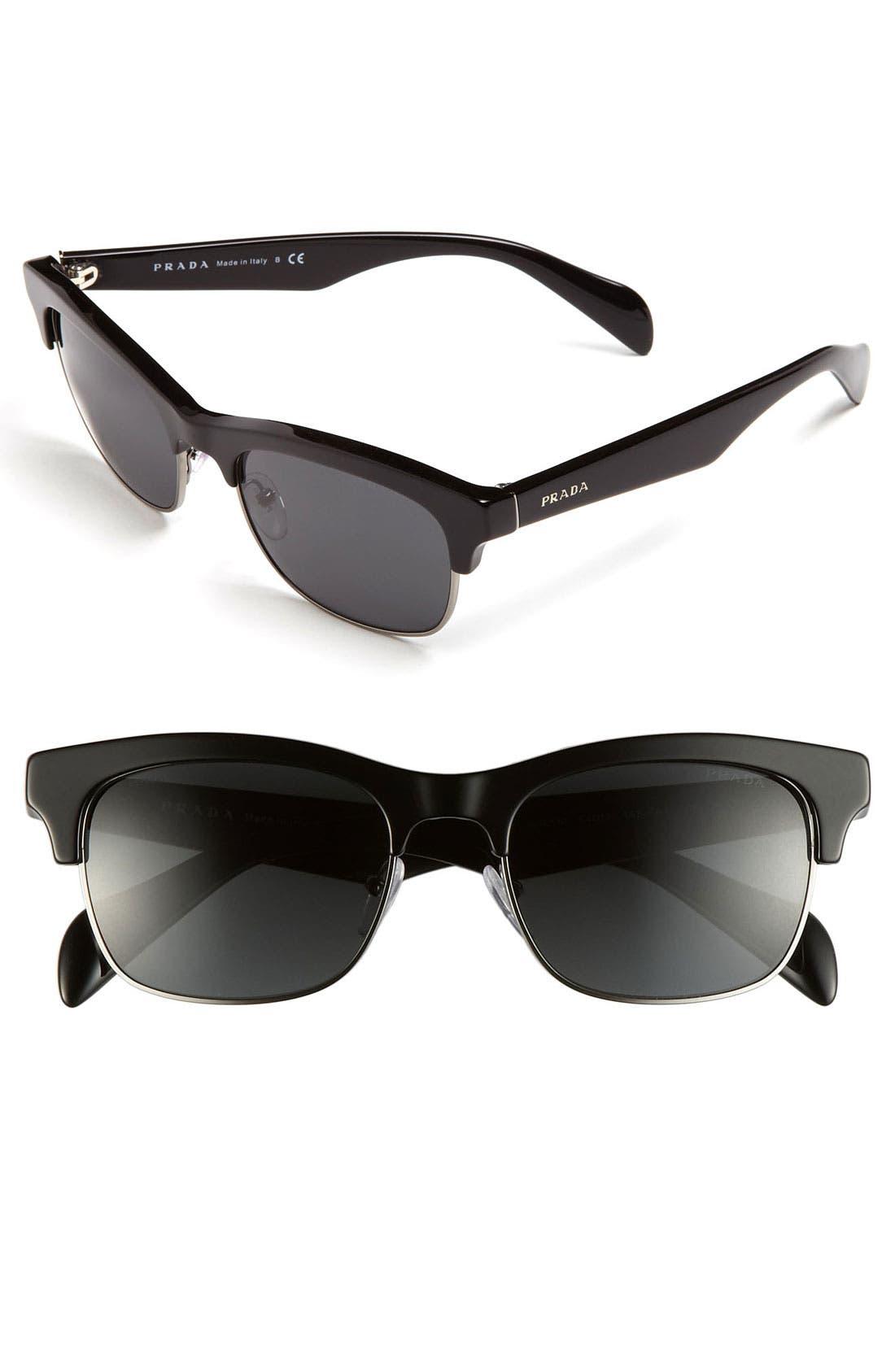 Main Image - Prada 54mm Sunglasses