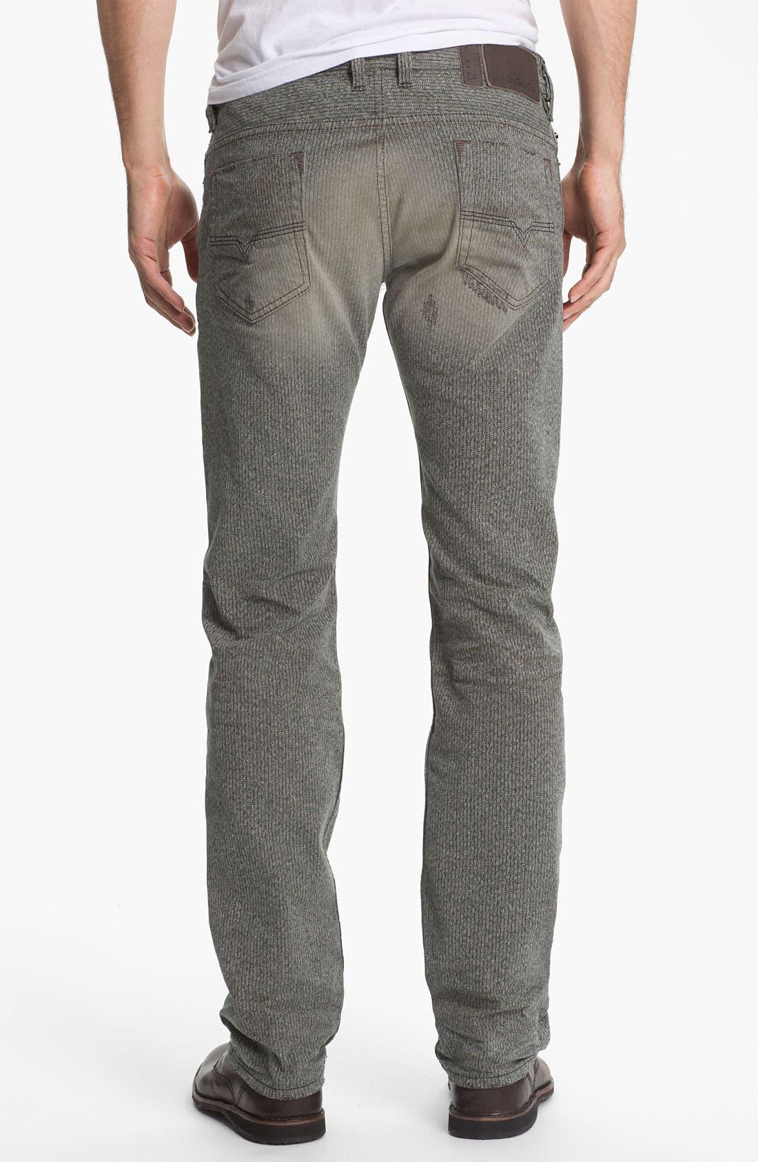 Alternate Image 1 Selected - DIESEL® 'Safado' Straight Leg Jeans (0807M)