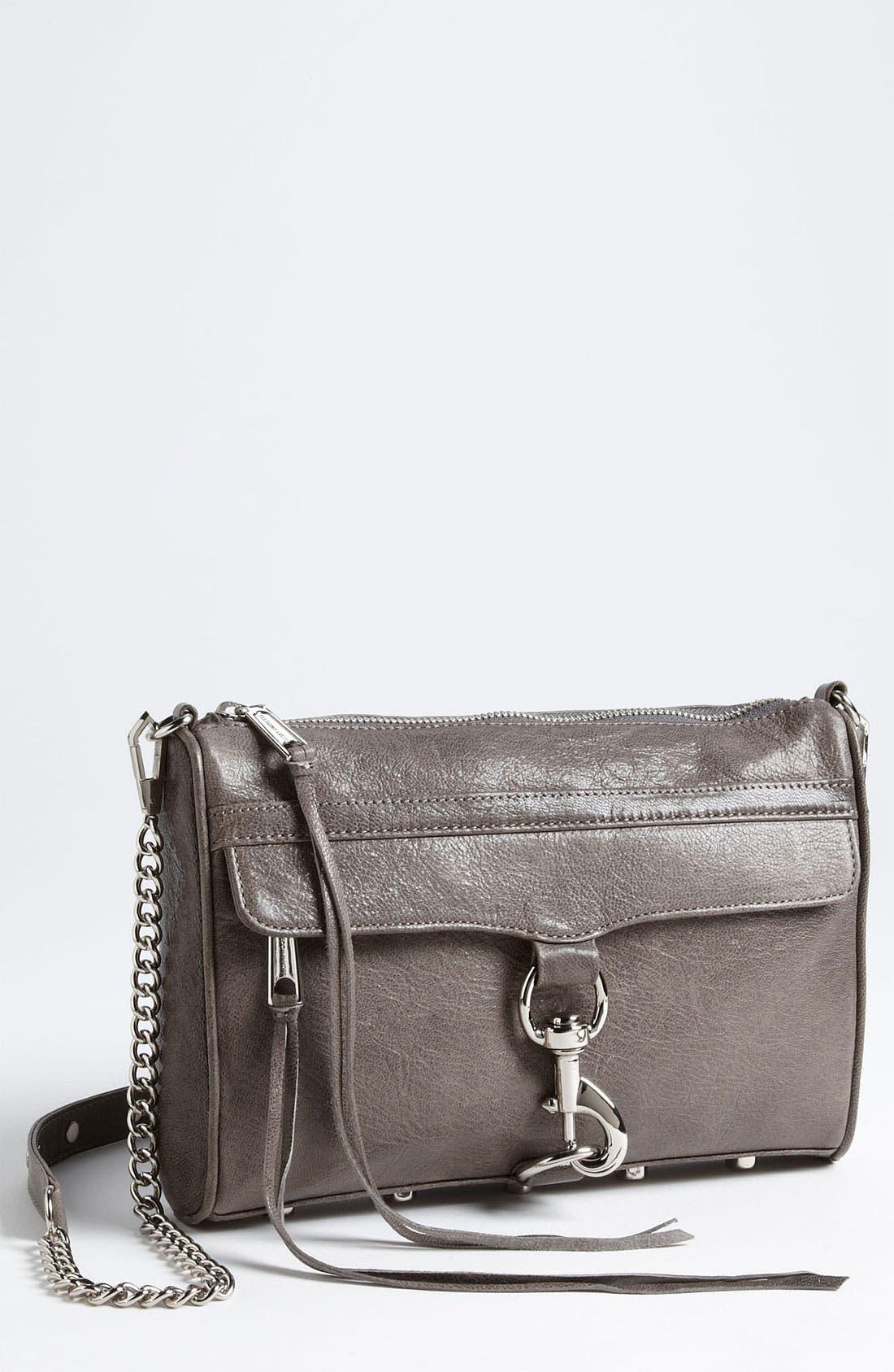 Alternate Image 1 Selected - Rebecca Minkoff 'MAC' Leather Shoulder Bag