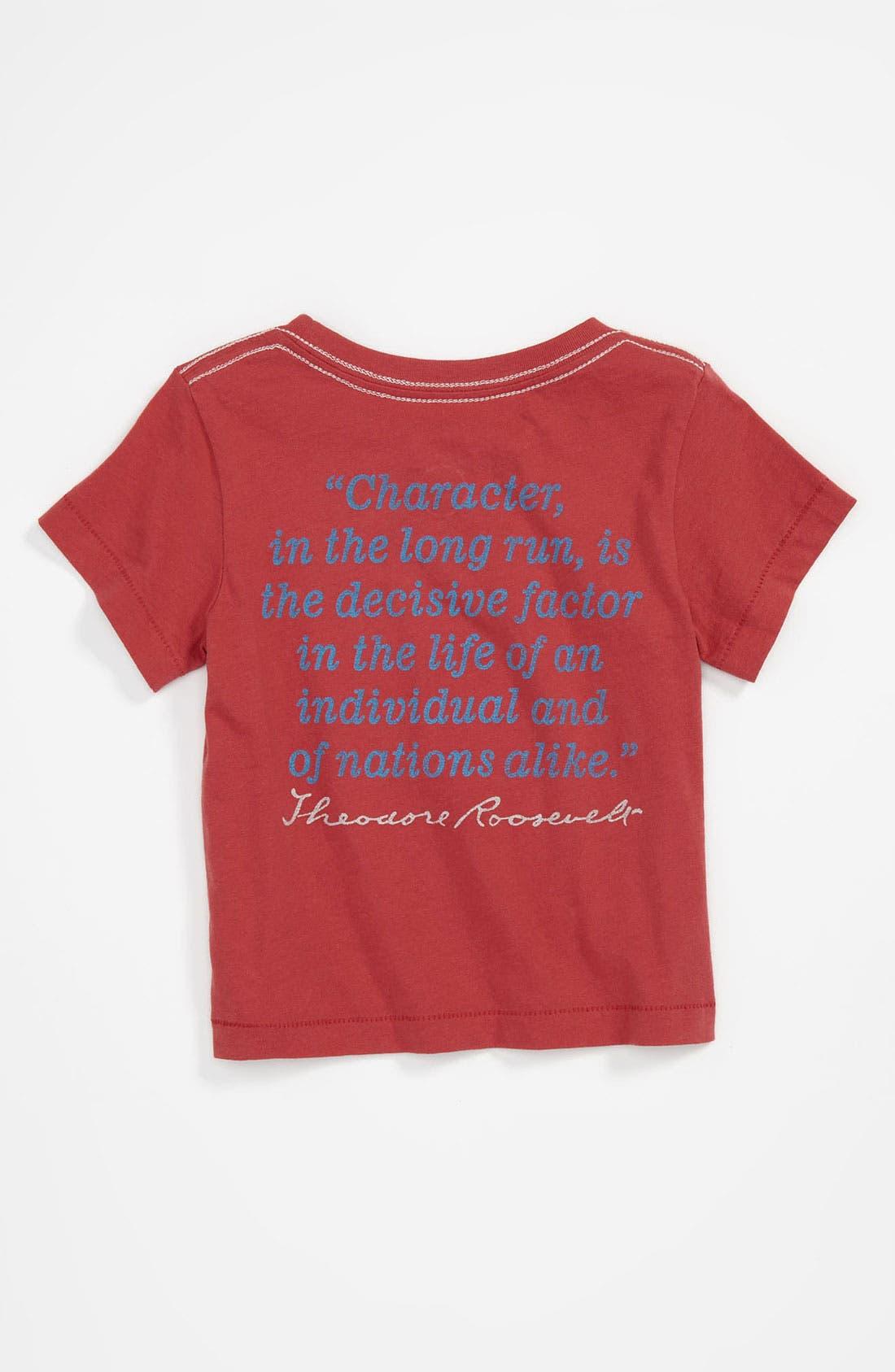 Alternate Image 2  - Peek 'Roosevelt' T-Shirt (Infant)