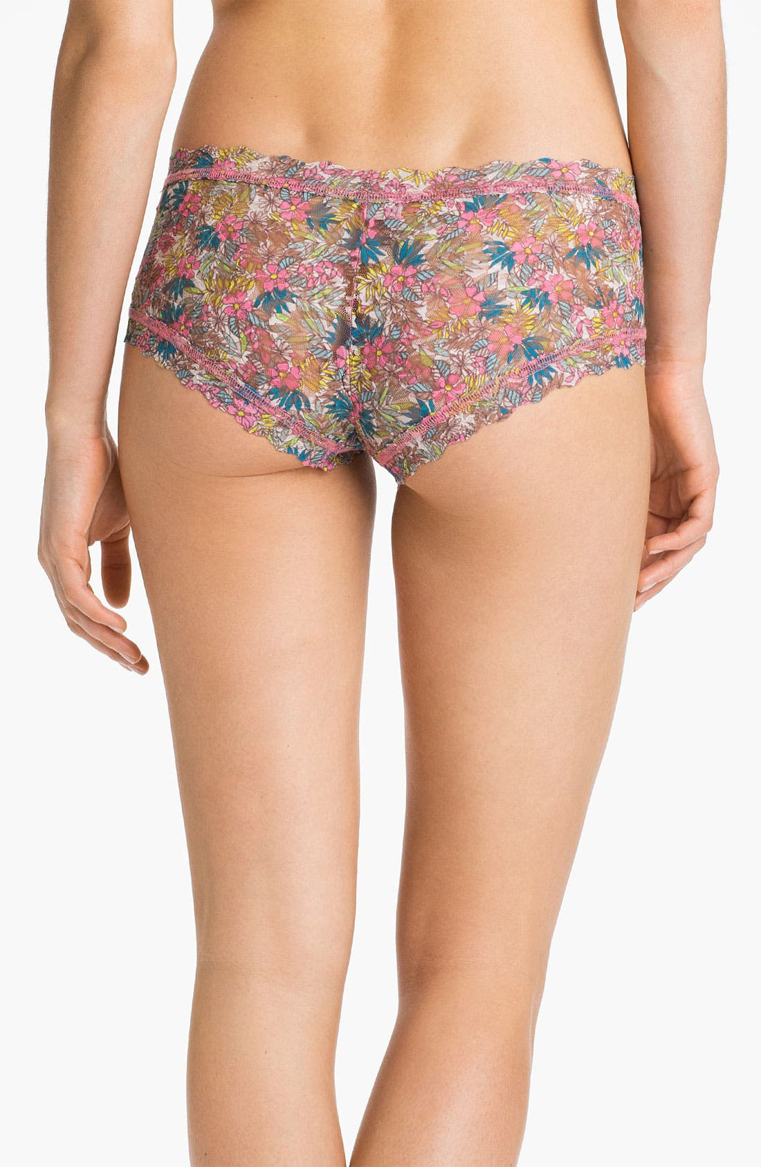 Alternate Image 2  - Hanky Panky 'Flower Child' Boyshorts