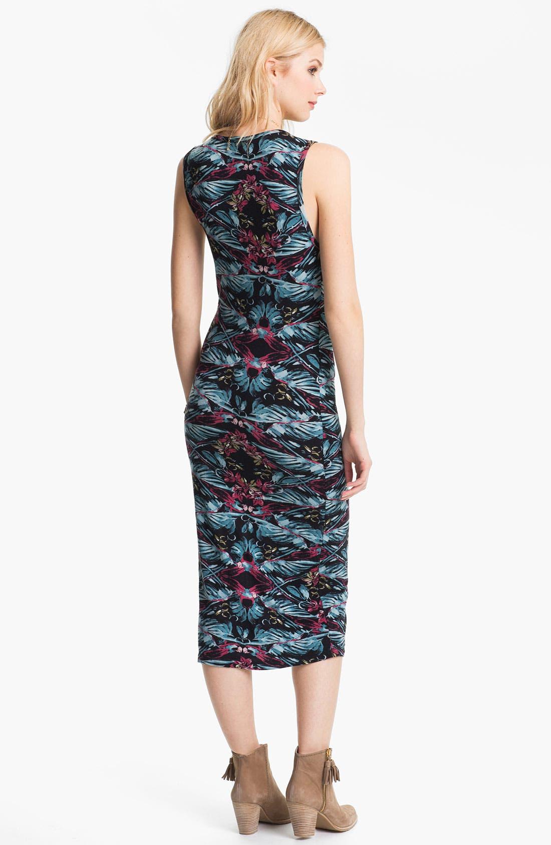 Alternate Image 2  - Free People 'Love From London' Print Midi Tank Dress