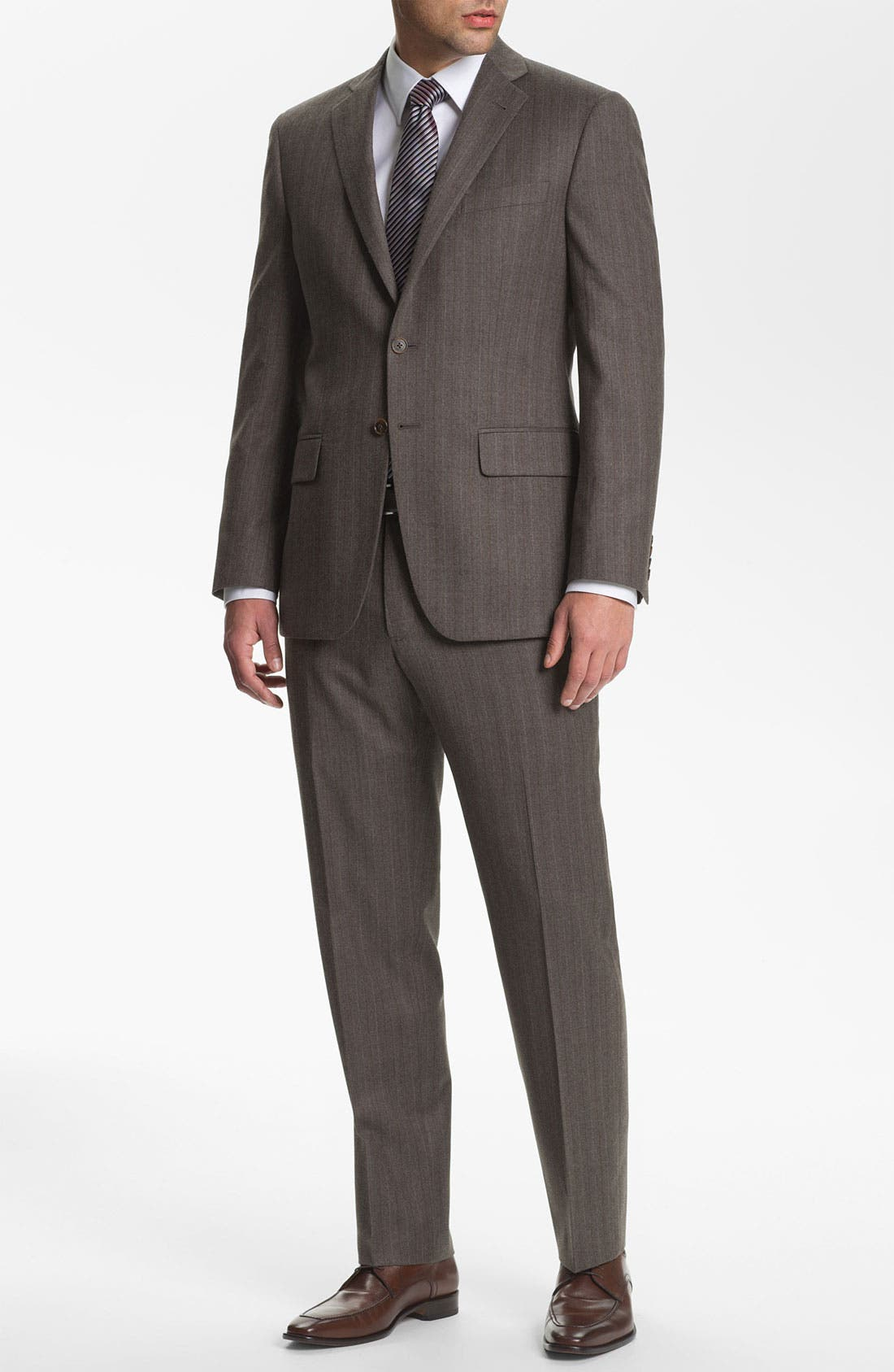 Alternate Image 2  - Joseph Abboud 'Profile' Trim Fit Stripe Suit