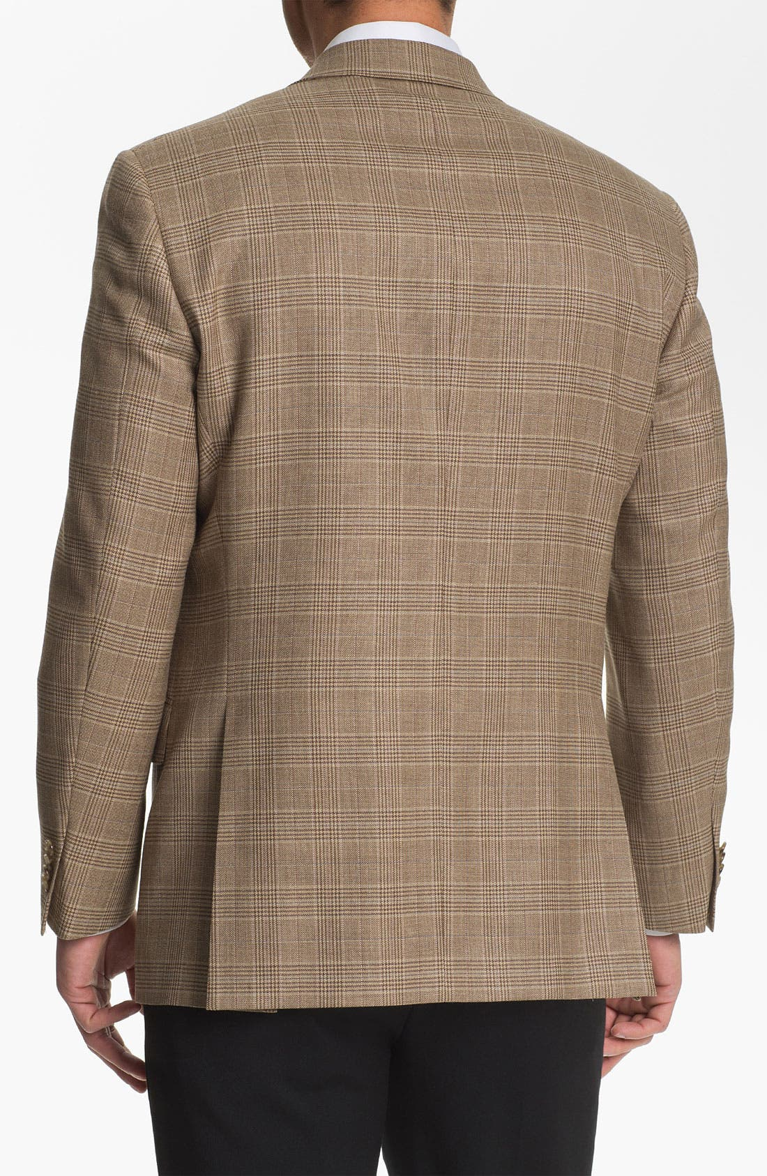 Alternate Image 2  - Hart Schaffner Marx Plaid Sportcoat (Big)
