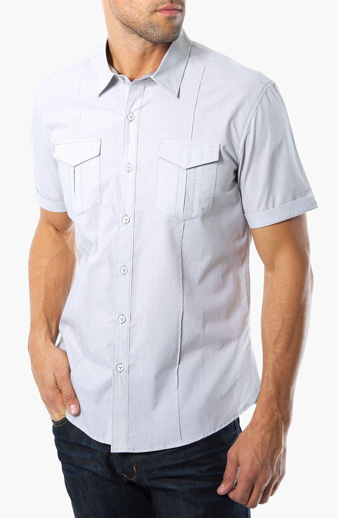 Main Image - 7 Diamonds 'The Dreadlock Holiday' Woven Sport Shirt