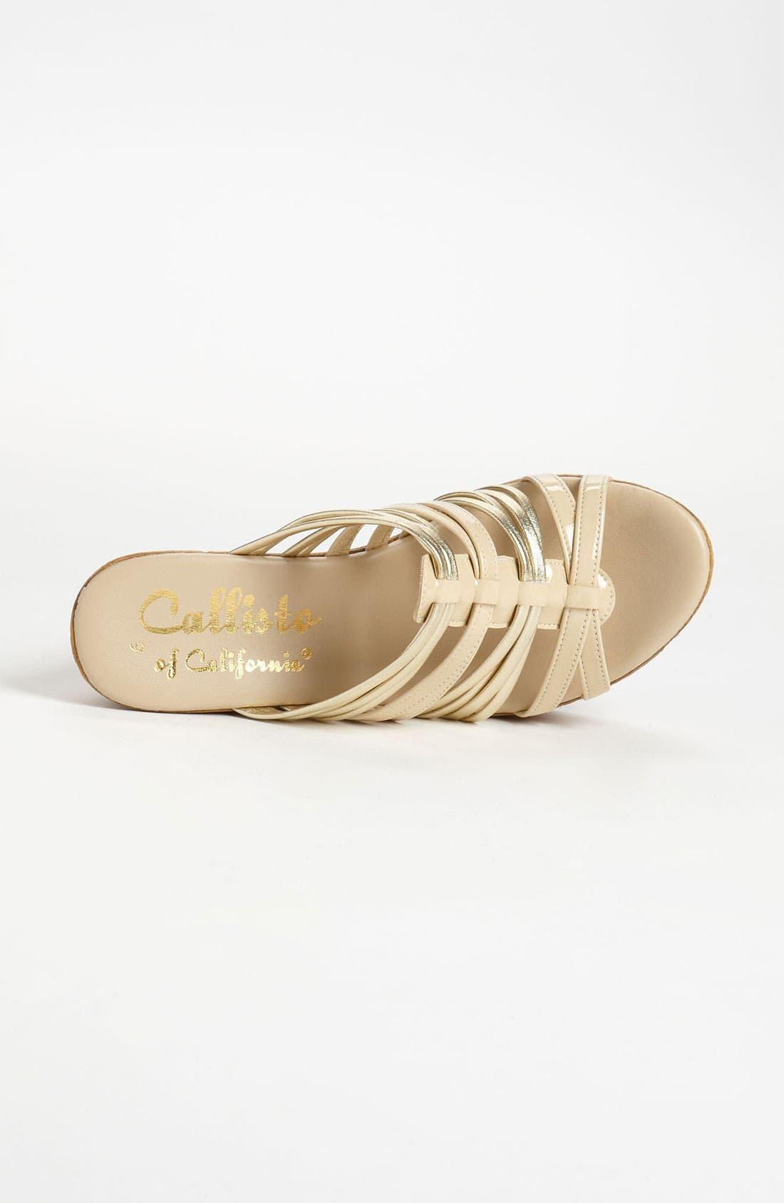 Alternate Image 3  - Callisto 'Jeanette' Wedge Sandal