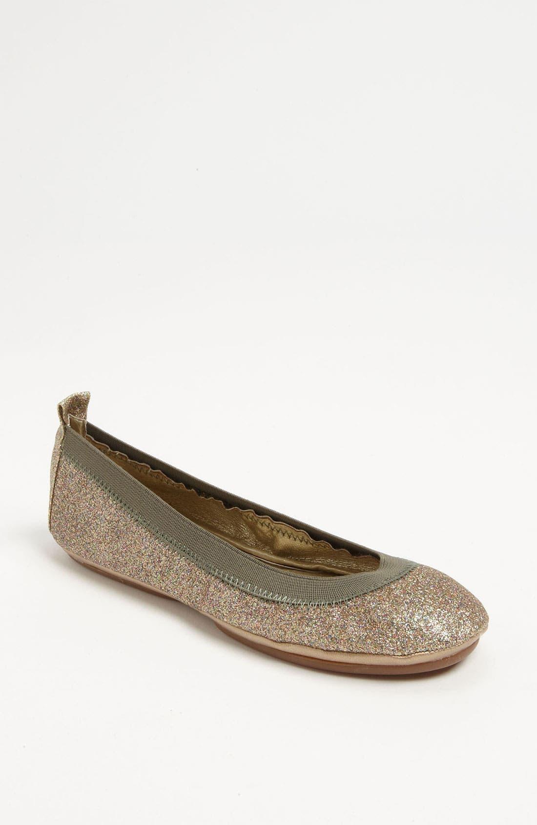 Alternate Image 1 Selected - Yosi Samra Glitter Ballet Flat