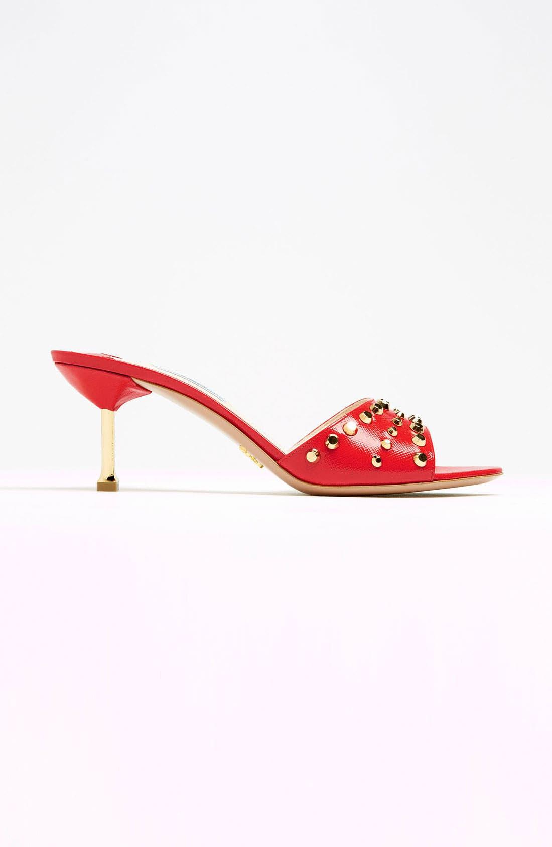 Alternate Image 3  - Prada Studded Slide Sandal