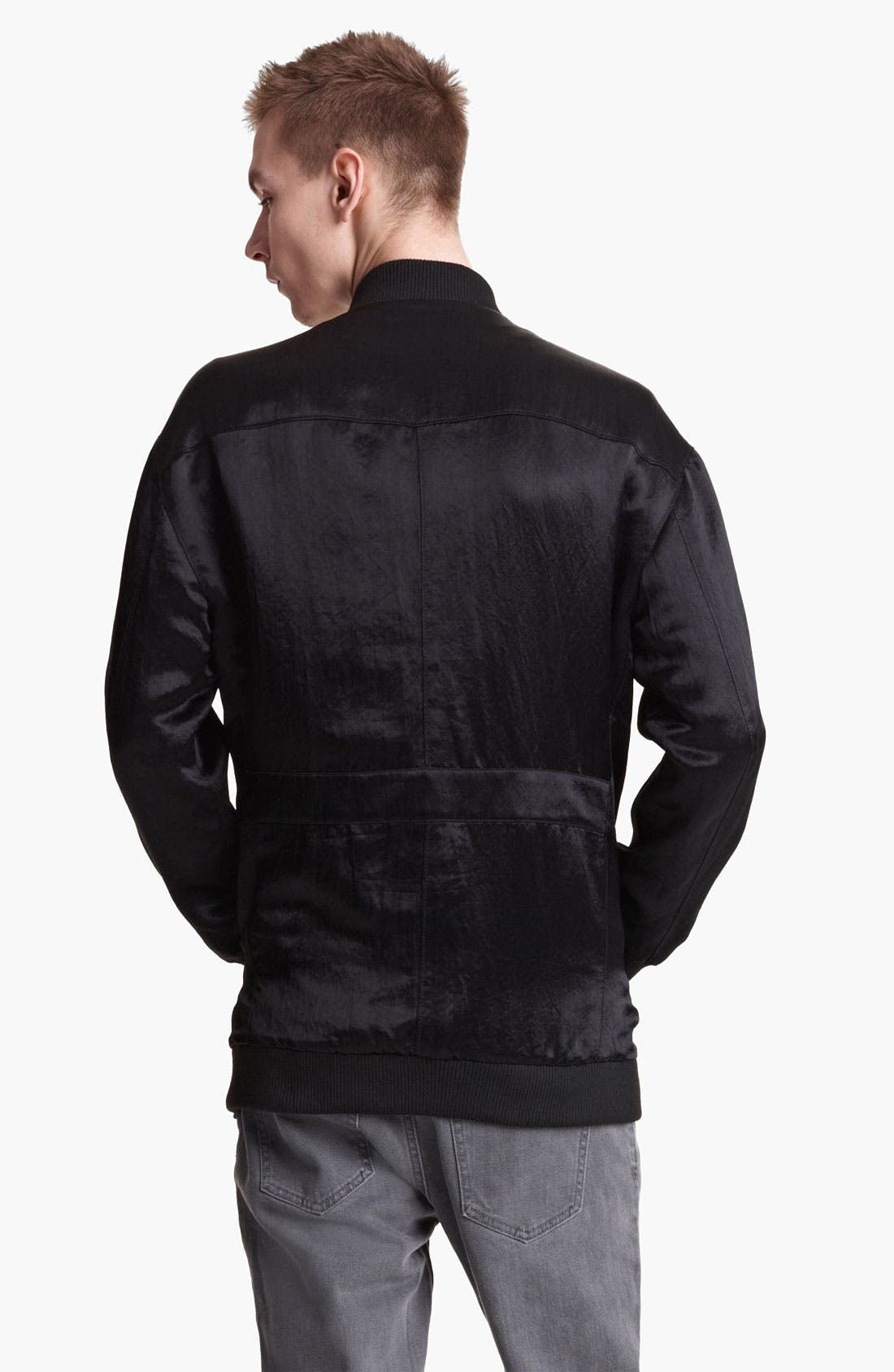 Alternate Image 2  - BLK DNM Nylon Bomber Jacket