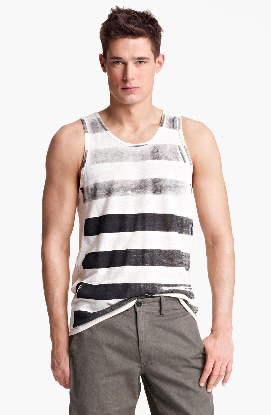 Alternate Image 1 Selected - Rogan Roller Stripe Front Tank Top
