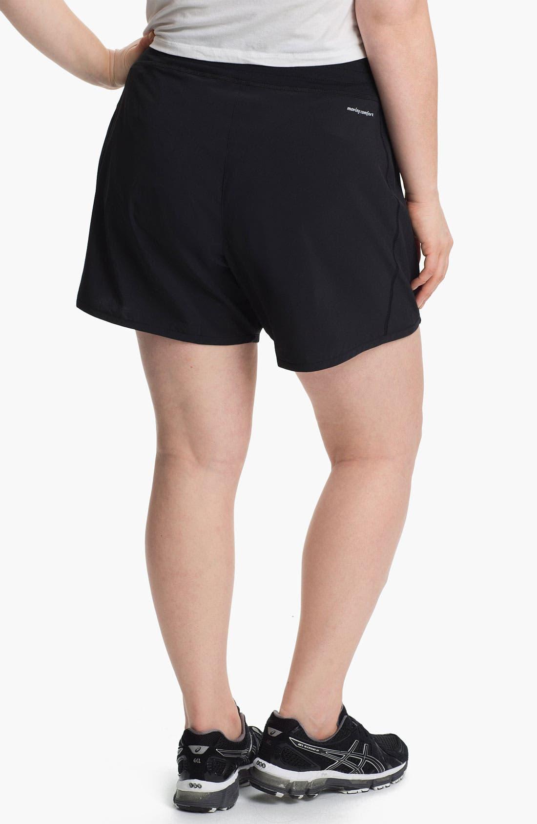 Alternate Image 2  - Moving Comfort 'Work It' Shorts (Plus Size)