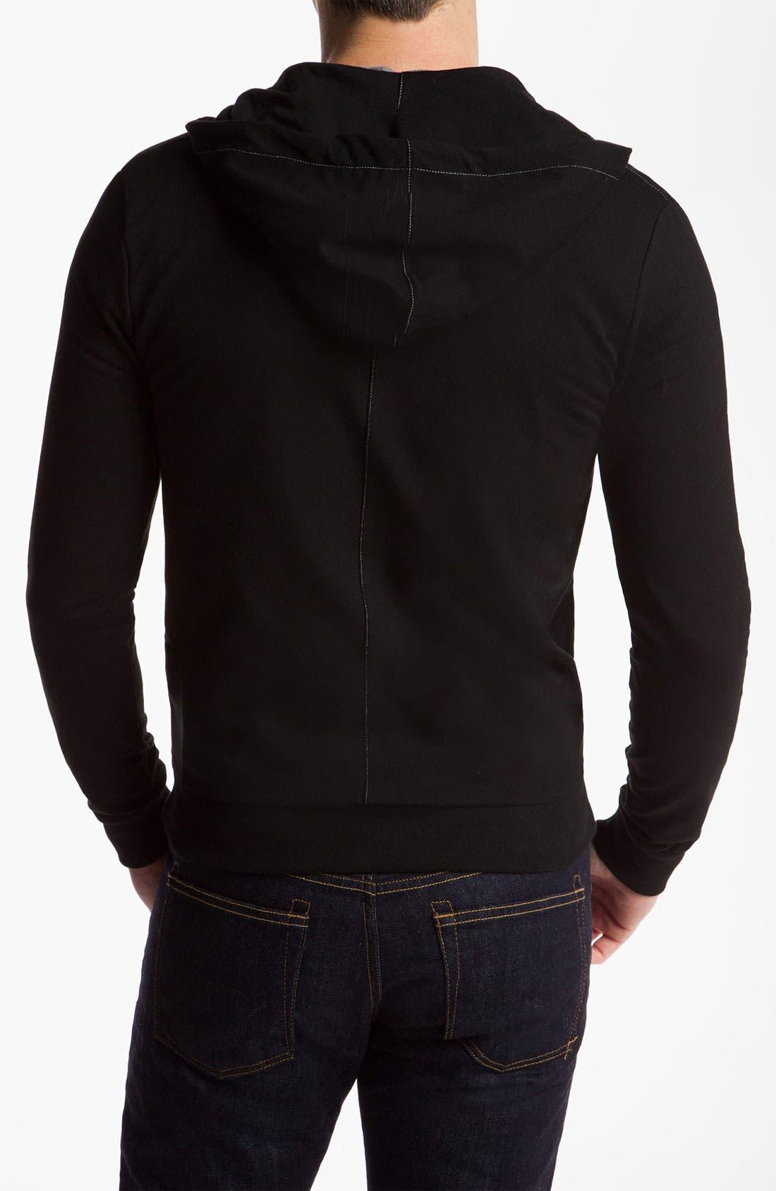 Alternate Image 2  - Versace Zip Hoodie