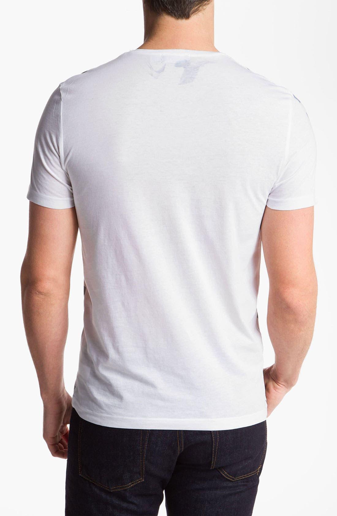 Alternate Image 2  - Topman Bird Print T-Shirt