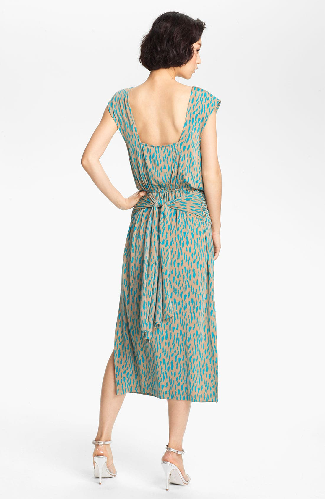 Alternate Image 2  - Tracy Reese Square Back Jersey Dress