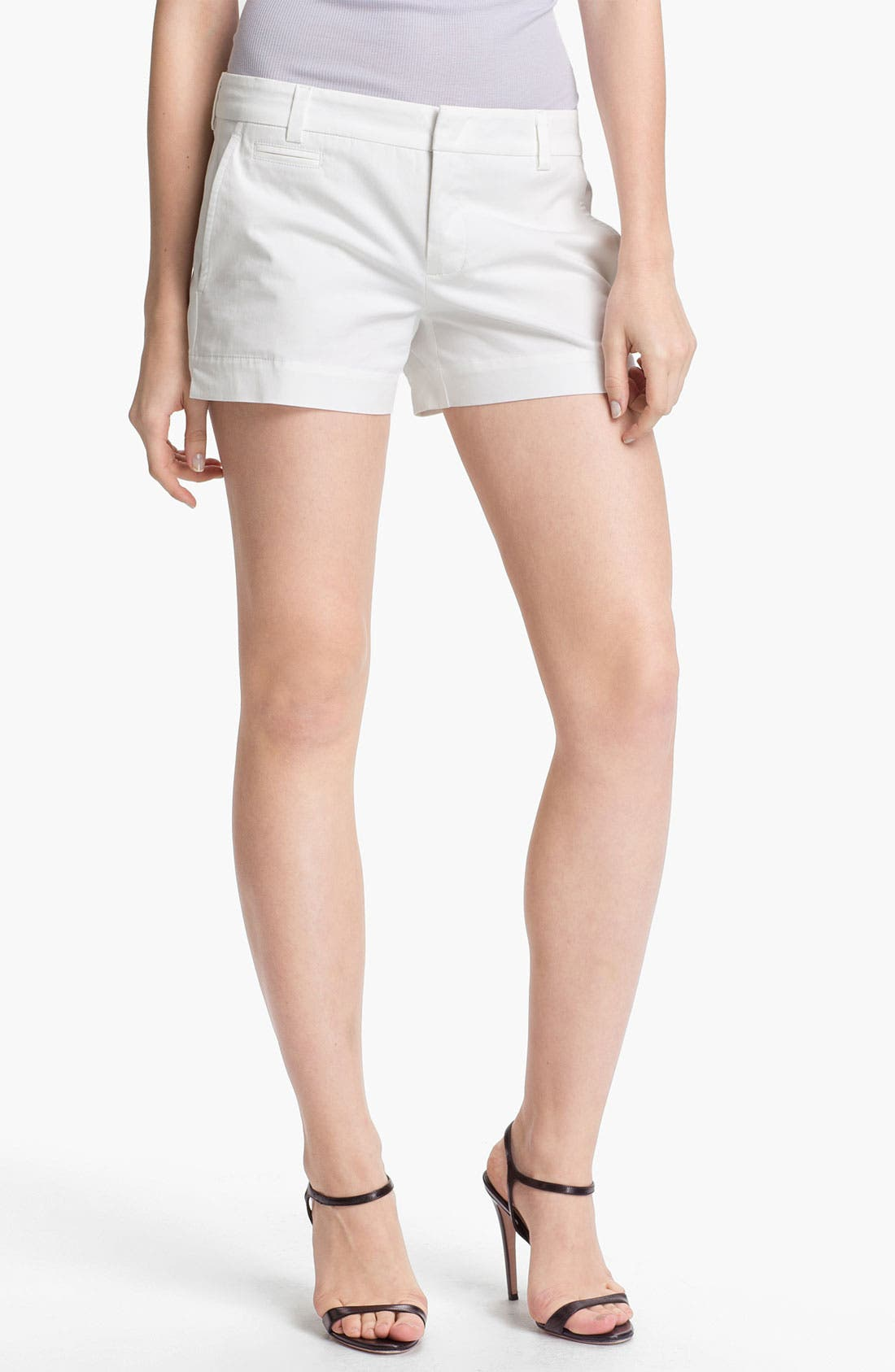 Alternate Image 1 Selected - Vince Stretch Cotton Shorts