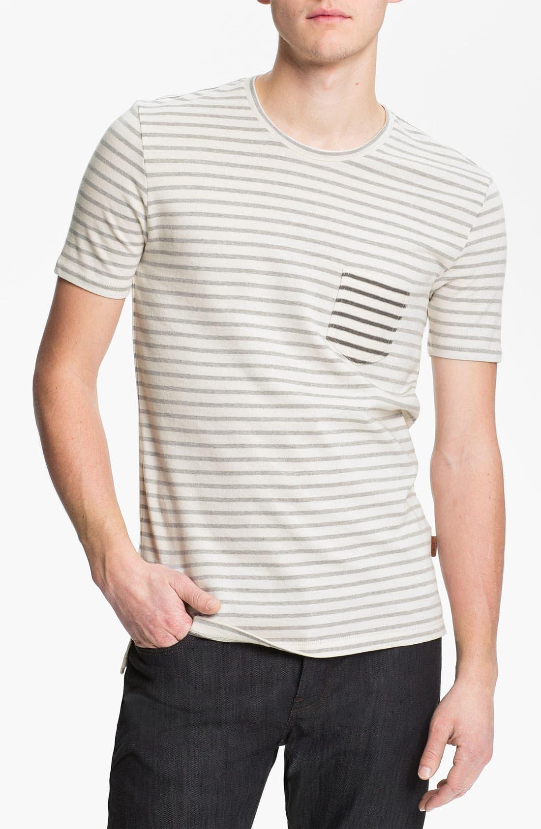 Alternate Image 1 Selected - Burberry Brit Stripe T-Shirt
