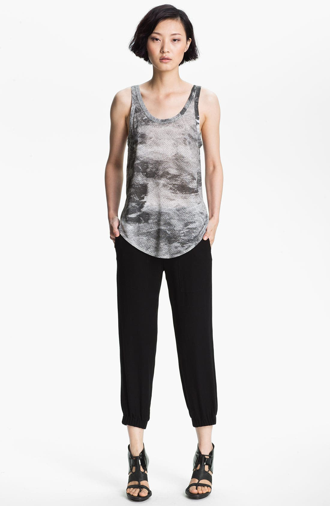 Alternate Image 1 Selected - HELMUT Helmut Lang Smudge Print Jersey Tank