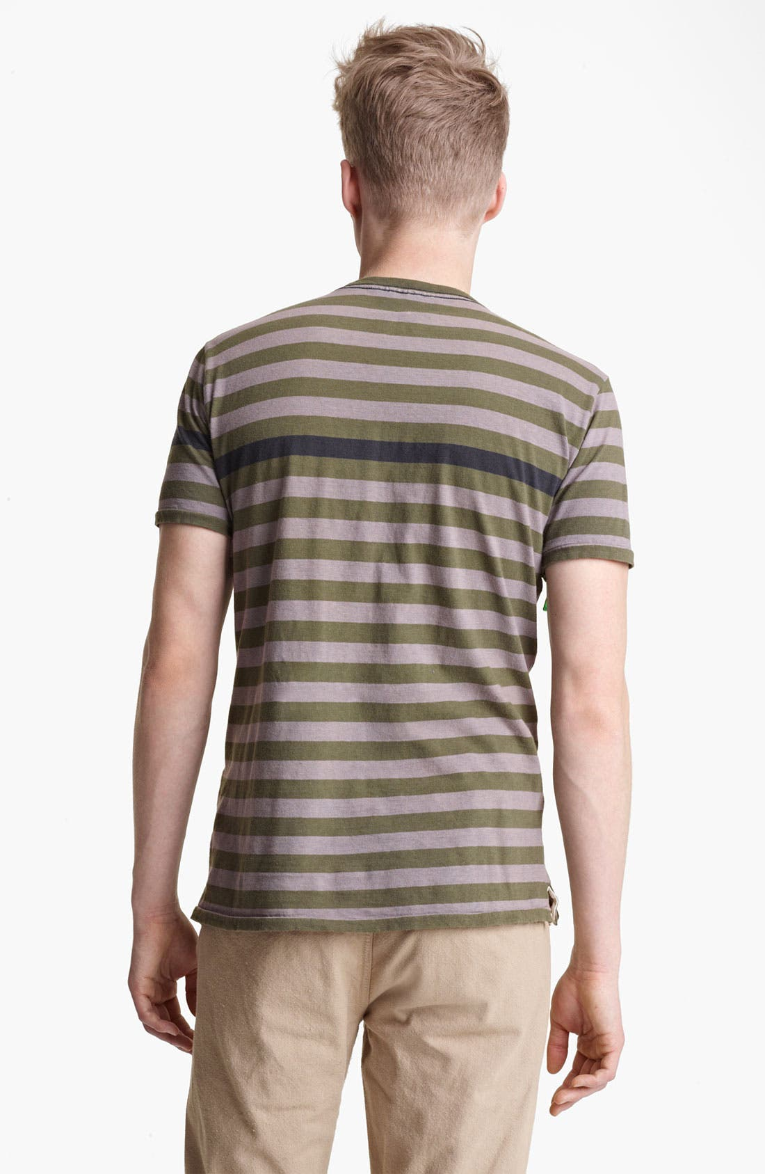 Alternate Image 2  - rag & bone Perfect Stripe Crewneck T-Shirt