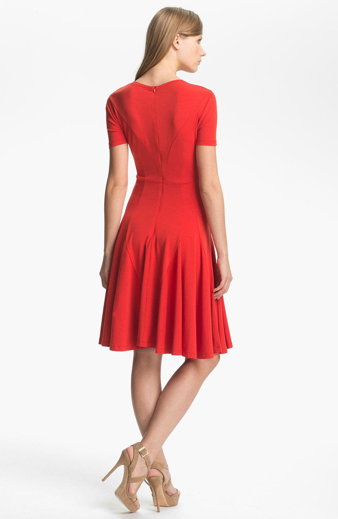 Alternate Image 2  - Carven Ruched Detail Jersey Dress