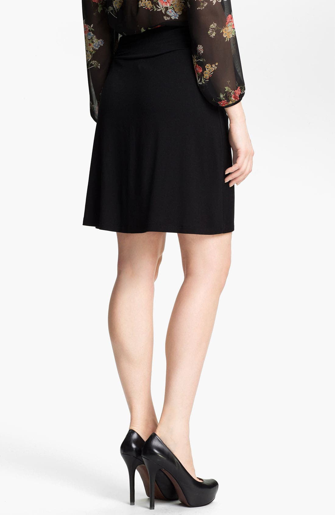Alternate Image 2  - Caslon® Short Knit Skirt