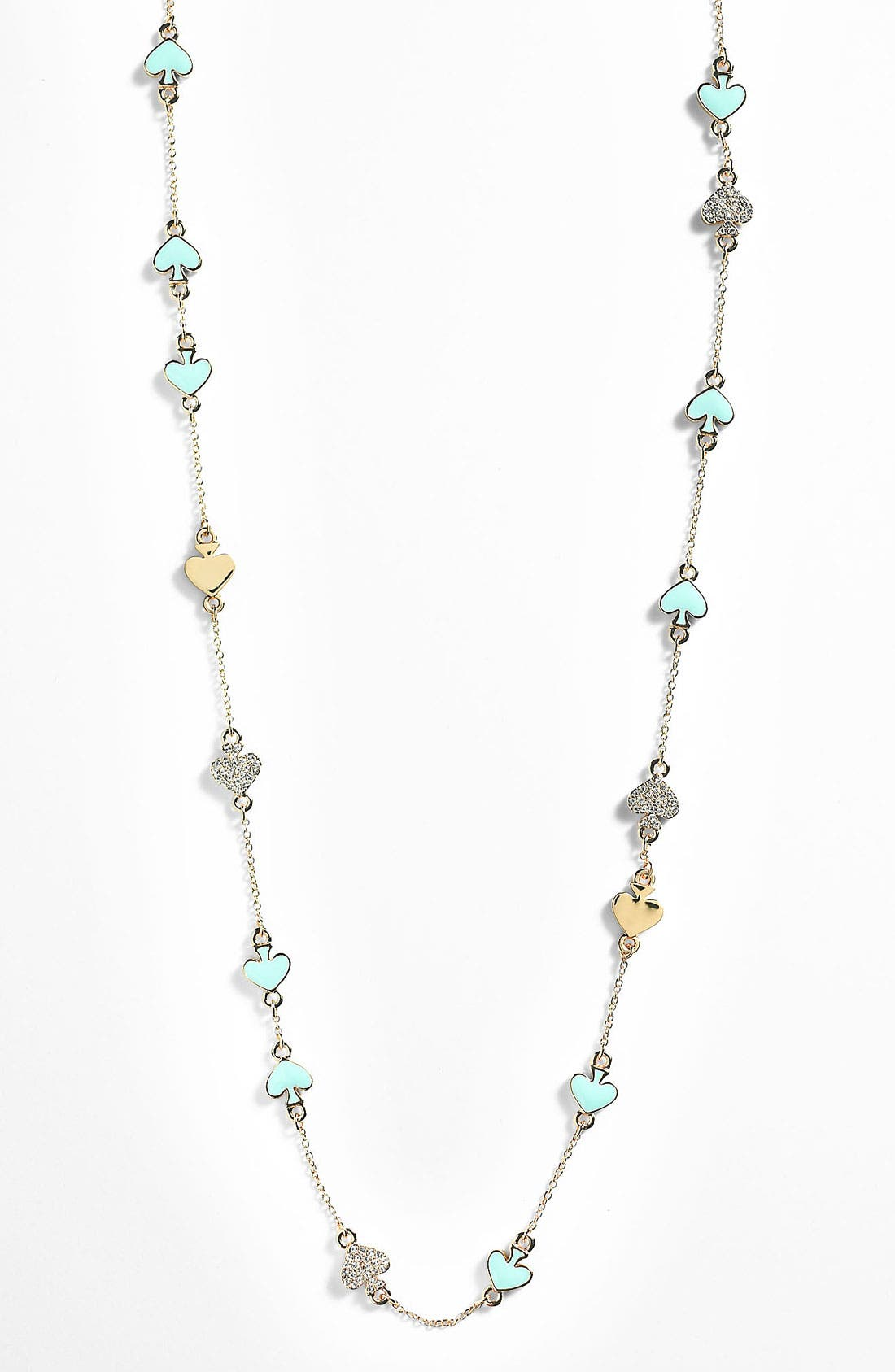 Alternate Image 1 Selected - kate spade new york 'spade to spade' long station necklace