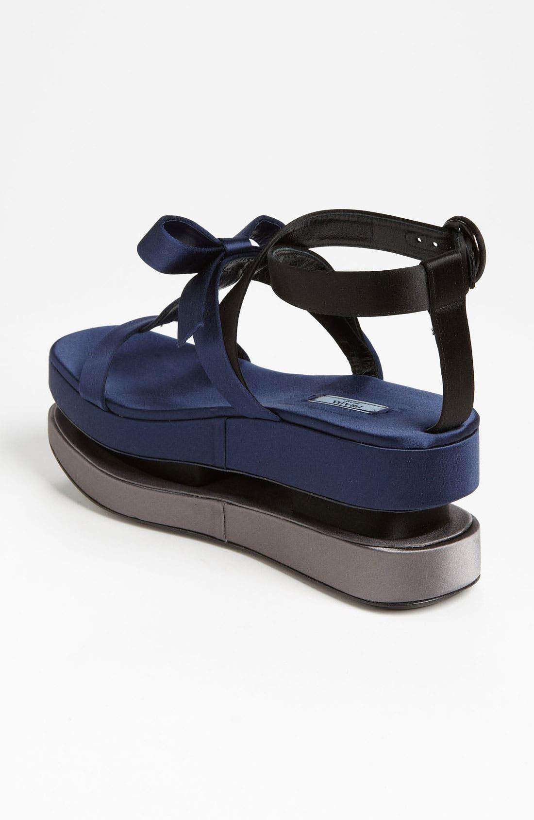 Alternate Image 2  - Prada T-Strap Platform Sandal