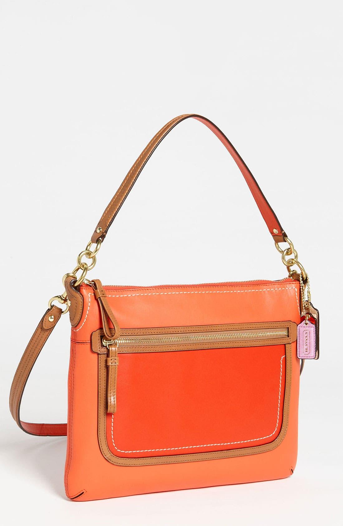 Alternate Image 1 Selected - COACH 'Poppy Colorblock' Shoulder Bag