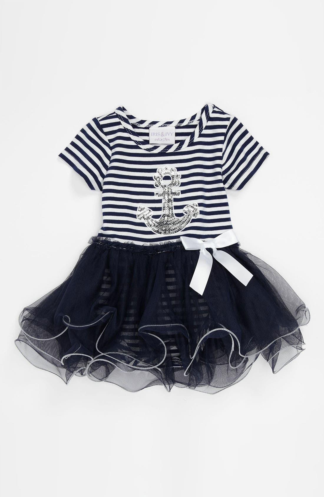 Alternate Image 1 Selected - Iris & Ivy Tutu Dress (Infant)