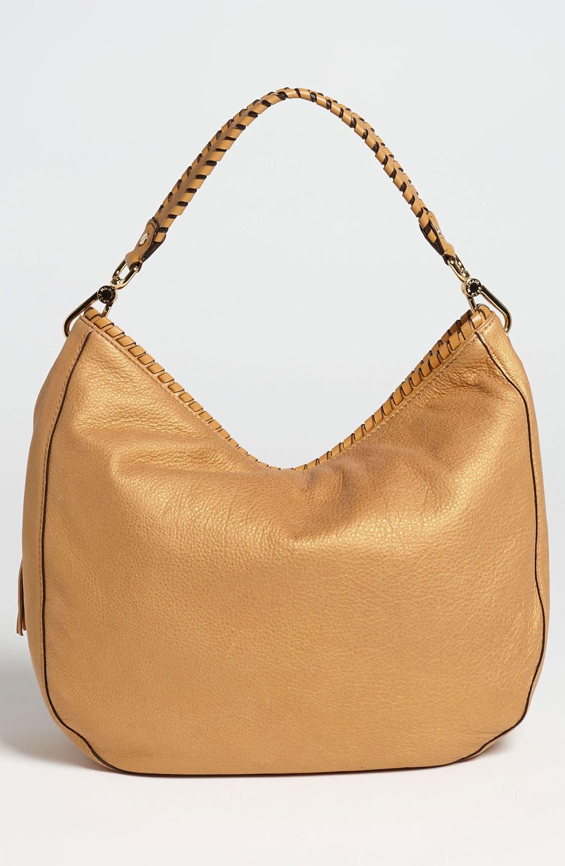 Alternate Image 4  - MICHAEL Michael Kors 'Bennet - Large' Glazed Nubuck Shoulder Bag