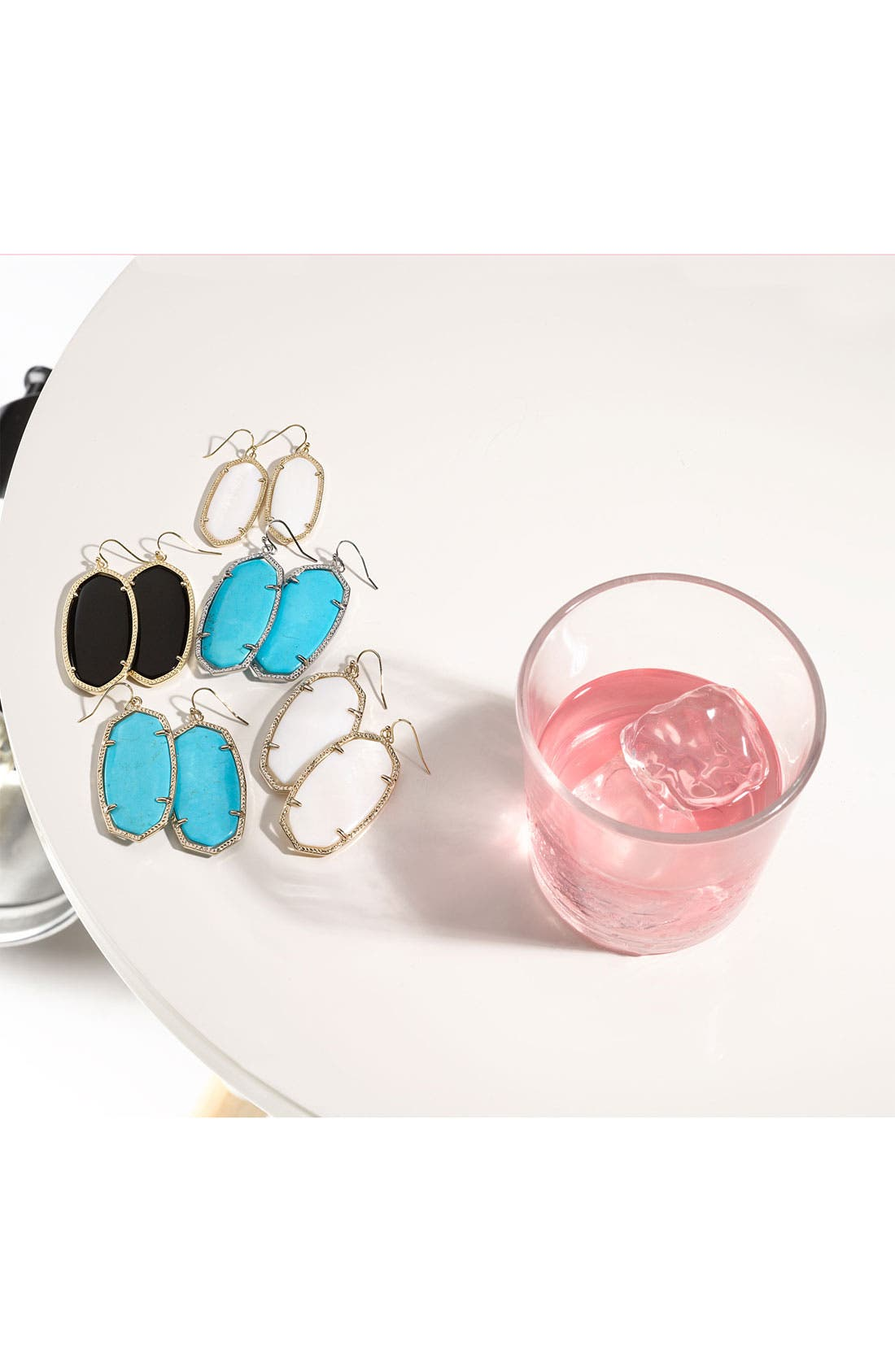 Alternate Image 3  - Kendra Scott 'Danielle' Oval Statement Earrings
