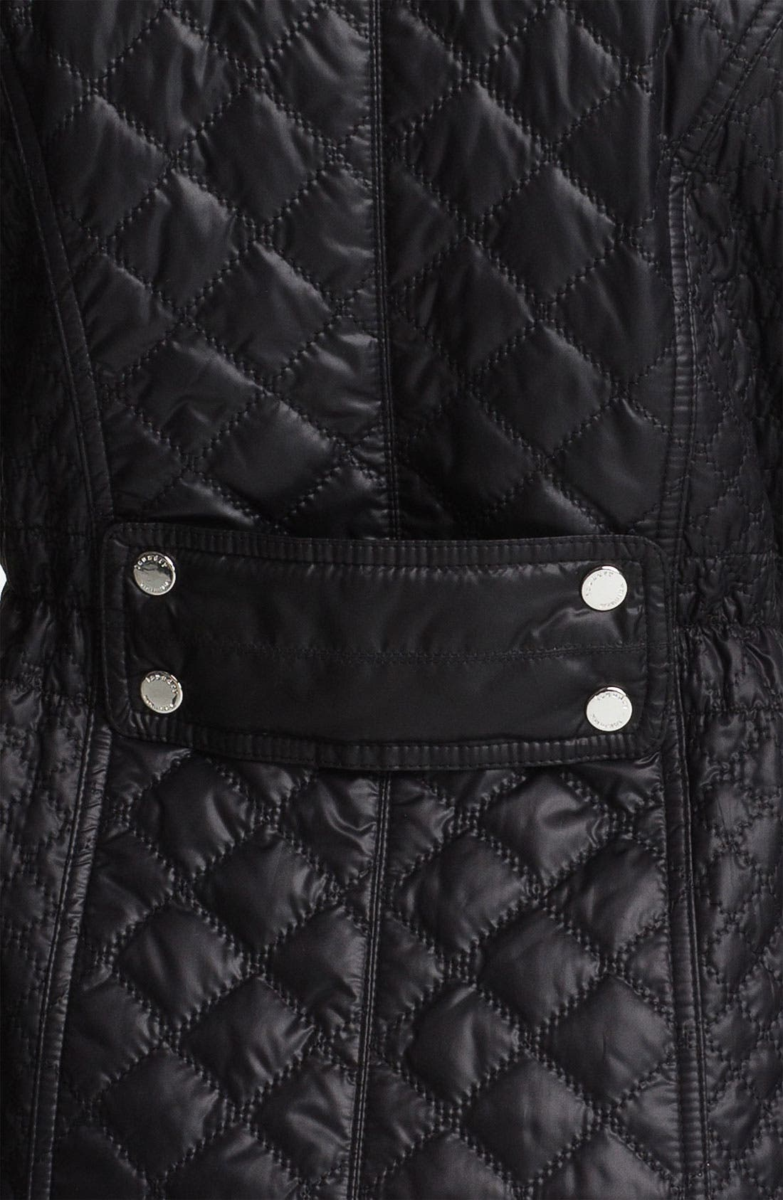 Alternate Image 3  - Laundry by Shelli Segal Packable Quilted Coat