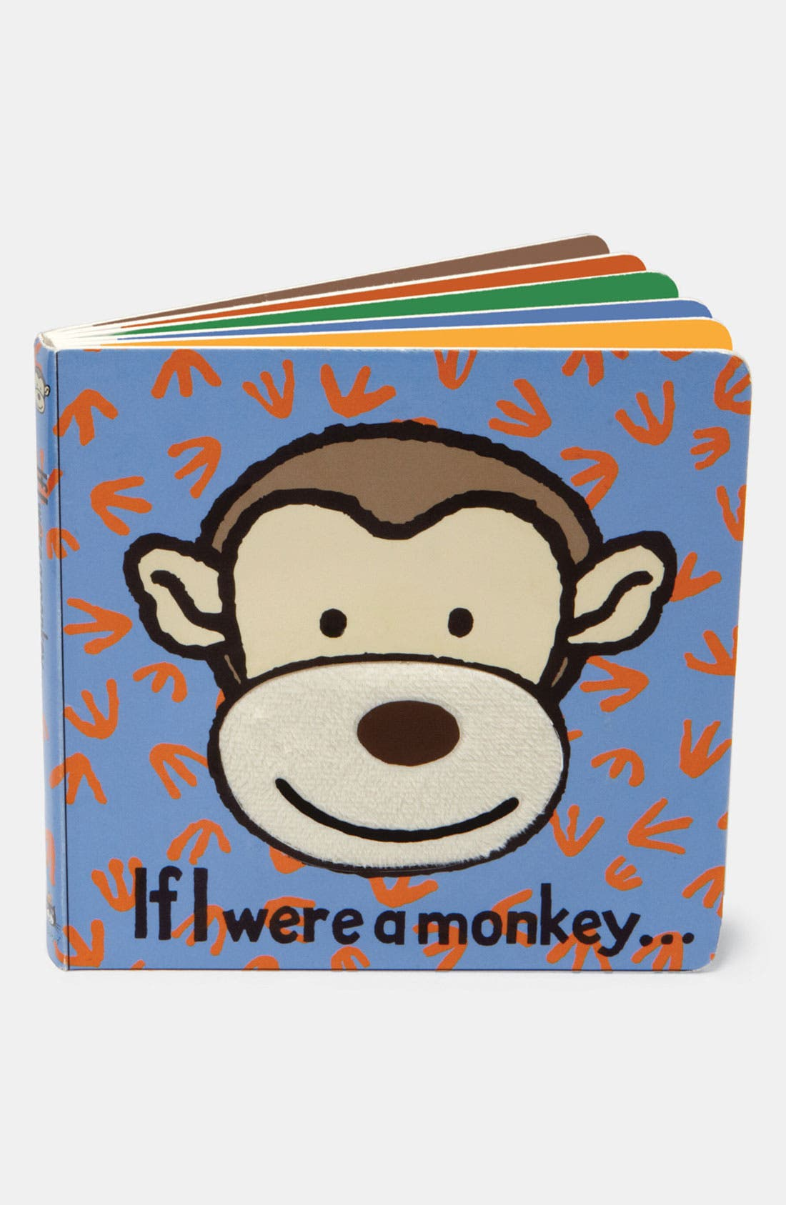 Alternate Image 1 Selected - 'If I Were a Monkey...' Board Book