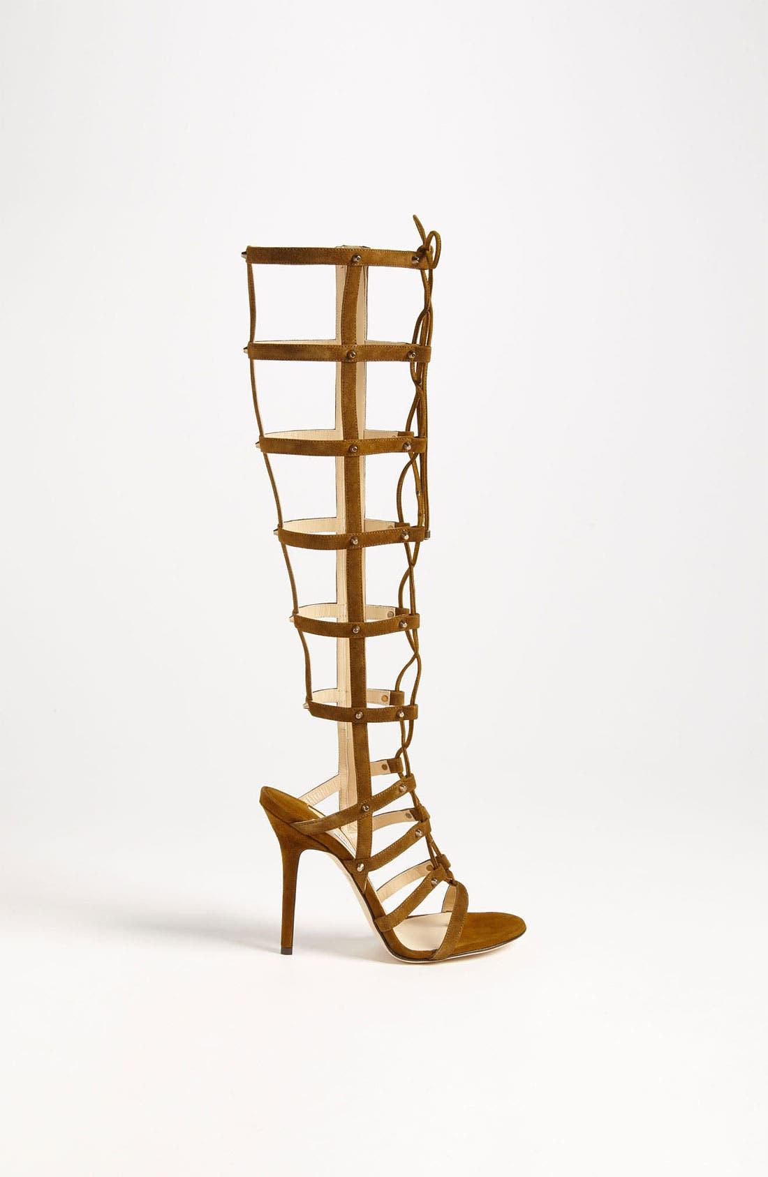 Alternate Image 4  - Jimmy Choo 'Mogul' Caged Sandal Boot