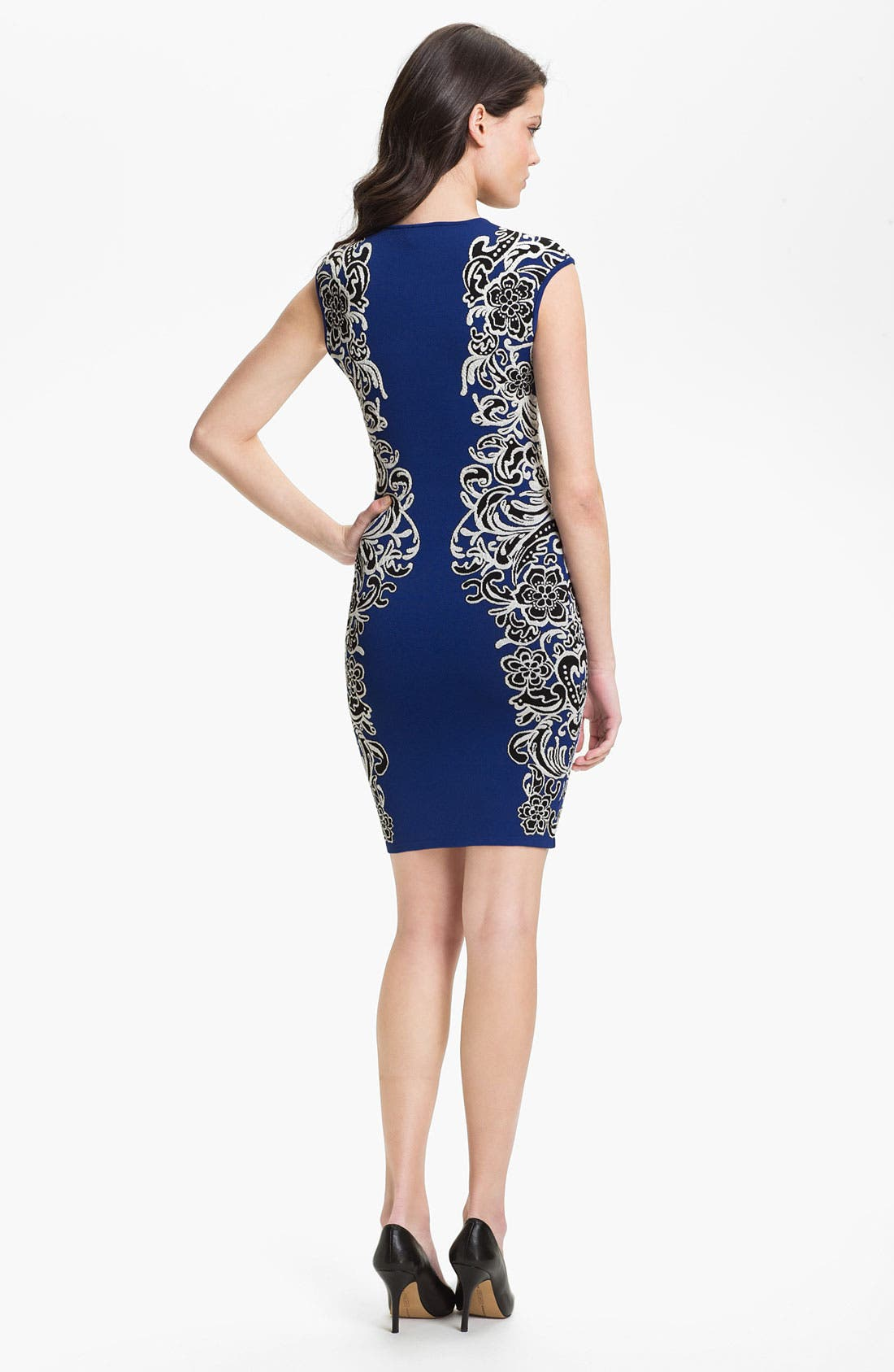 Alternate Image 2  - BCBGMAXAZRIA 'Tapestry' Sheath Dress