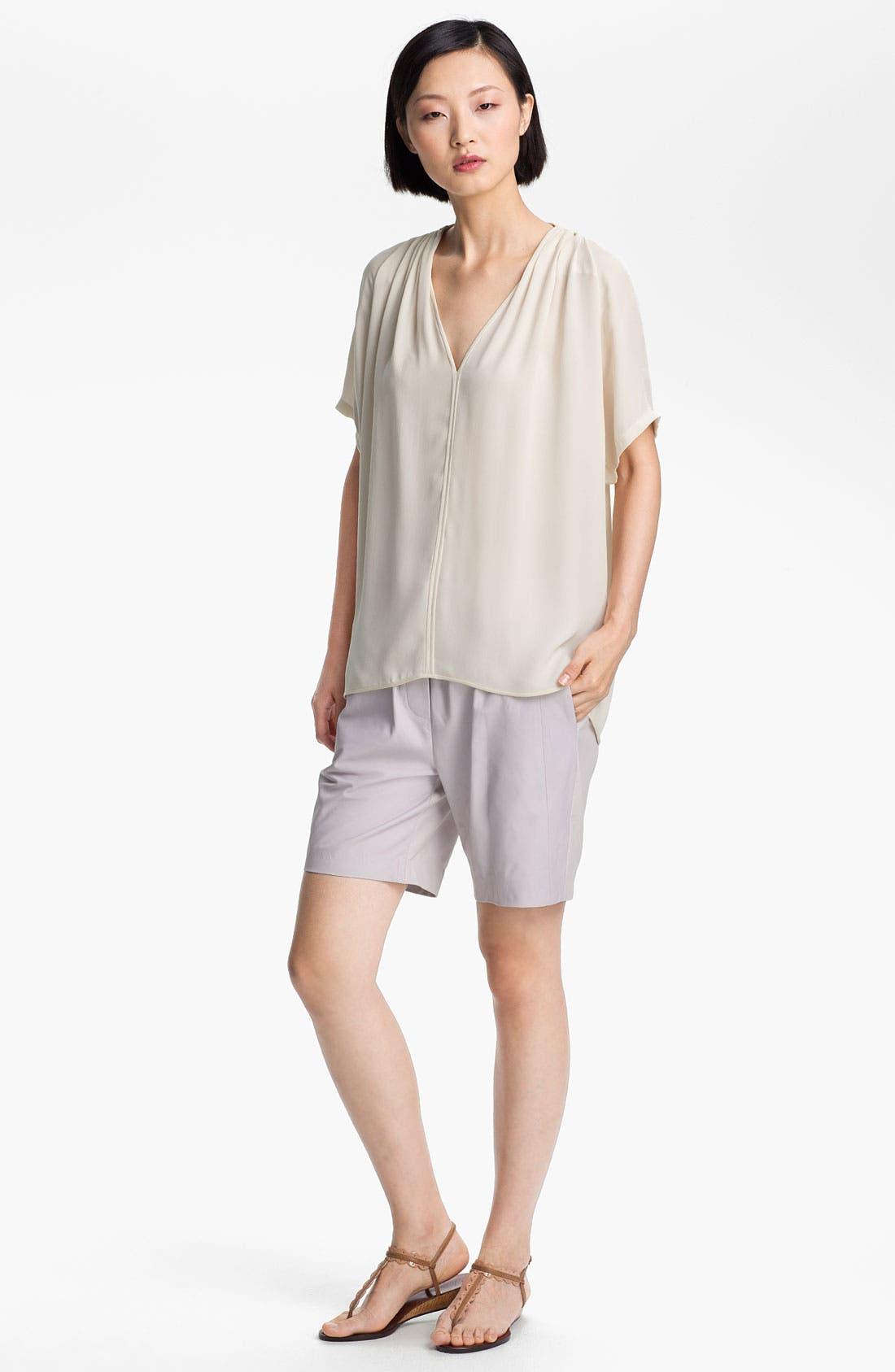 Alternate Image 4  - Halston Heritage Leather Shorts