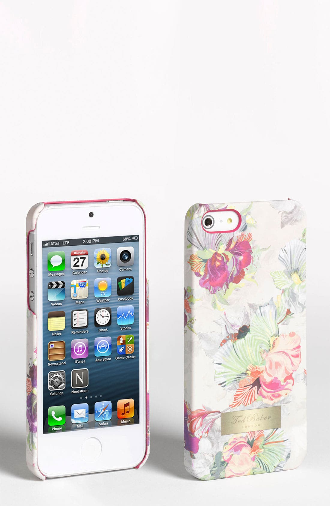 Alternate Image 1 Selected - Ted Baker London 'Treasured Orchid' iPhone 5 Case