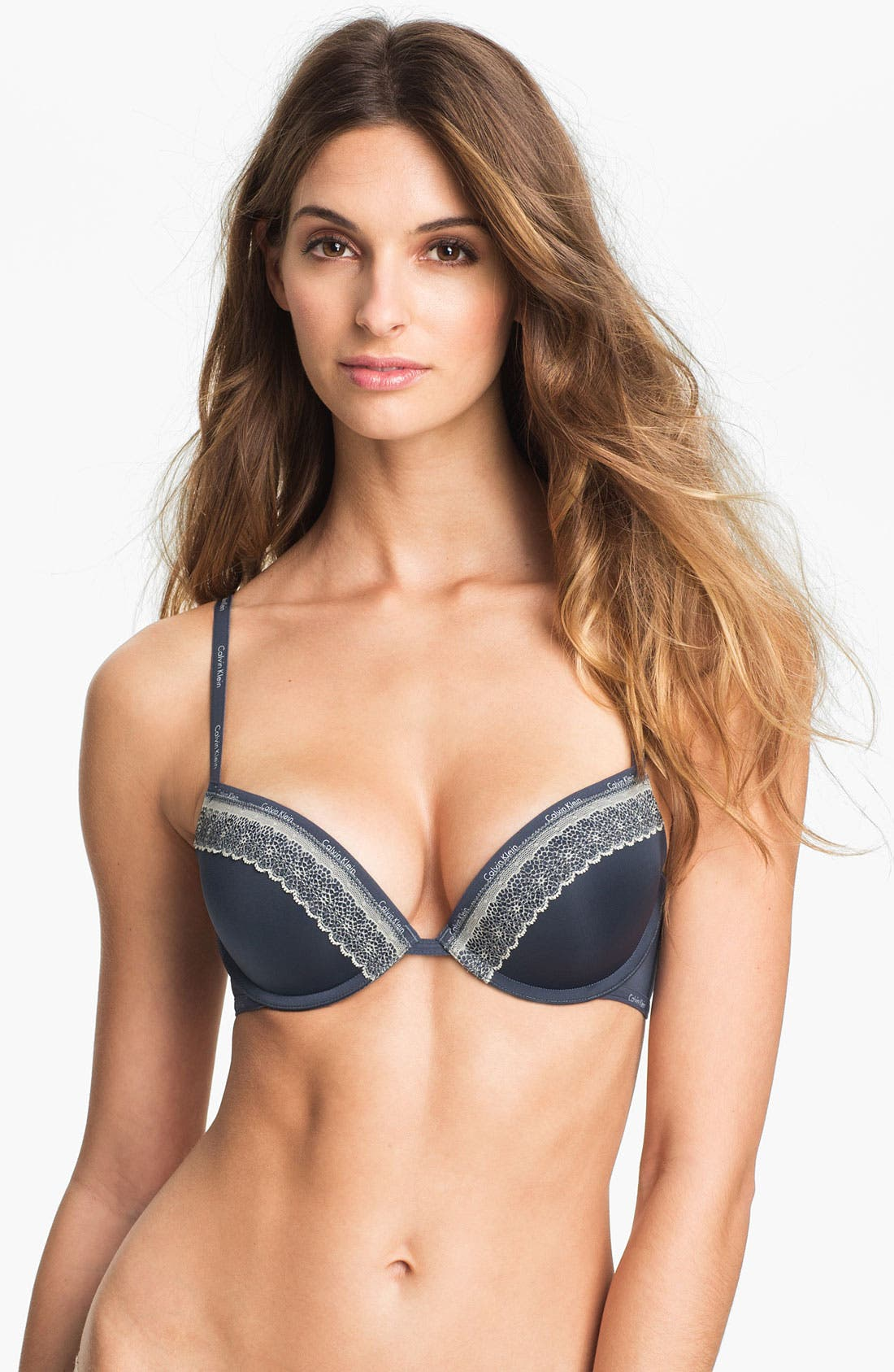 Alternate Image 1 Selected - Calvin Klein 'Perfectly Fit Sexy Signature' Underwire Push-Up Bra