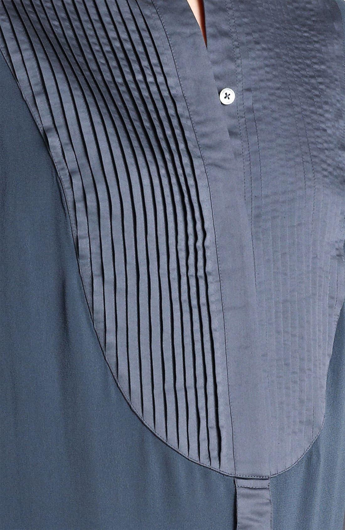 Alternate Image 3  - Donna Karan Collection Silk Georgette Tunic
