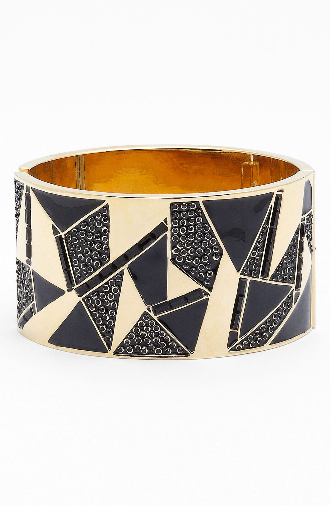 Alternate Image 1 Selected - St. John Collection Triangle Motif Cuff