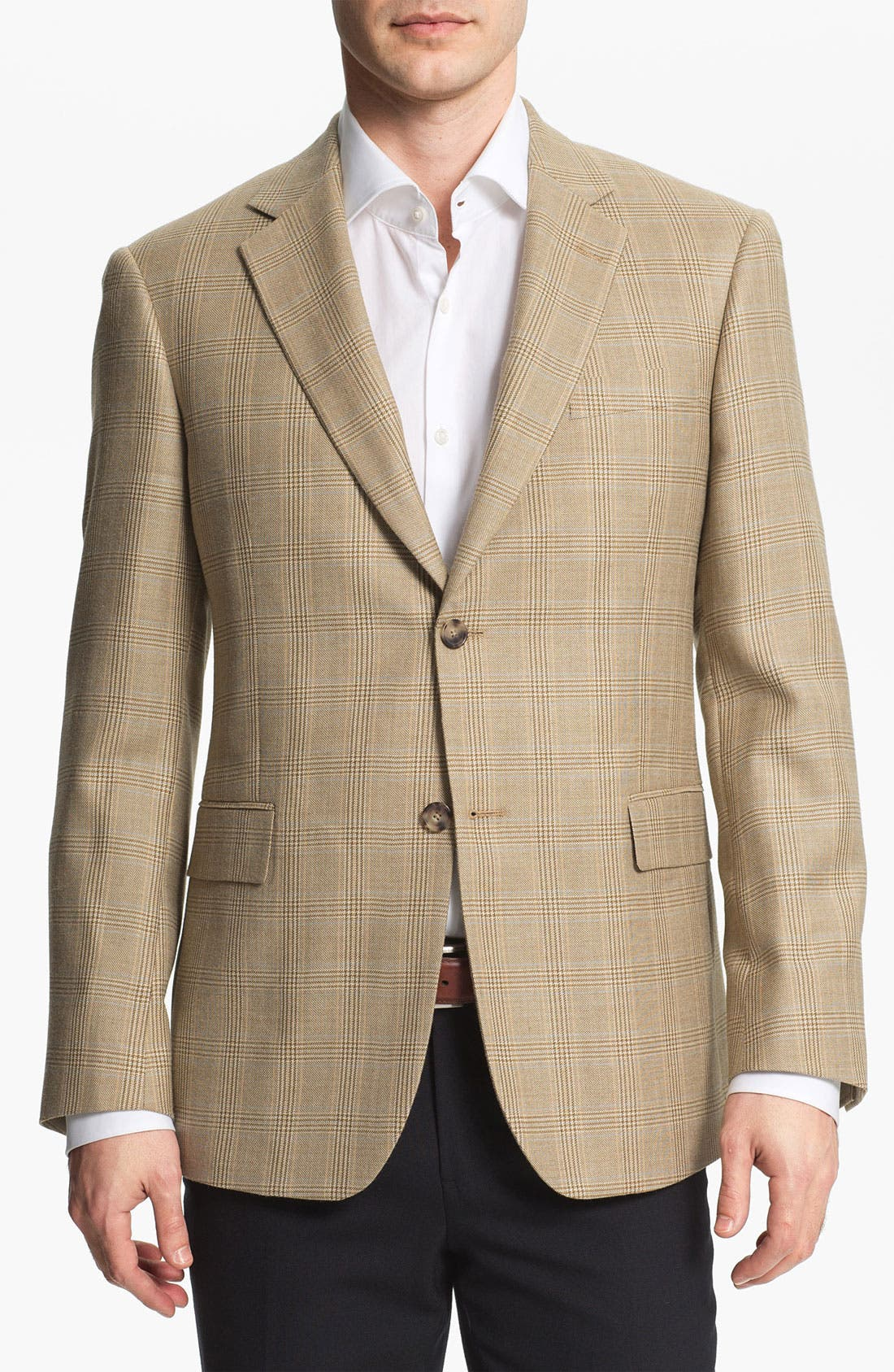 Main Image - John W. Nordstrom® Plaid Sportcoat