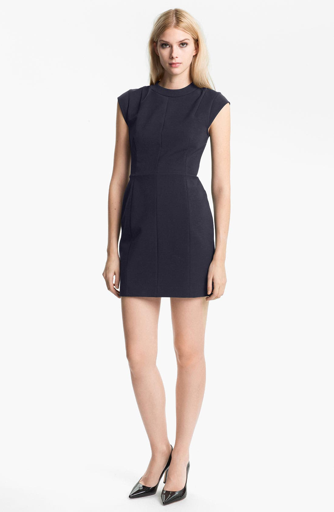 Alternate Image 1 Selected - Theory 'Orinthia' Cotton Blend Sheath Dress
