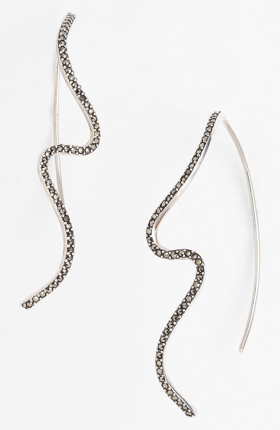 Alternate Image 1 Selected - Judith Jack 'Fluidity' Linear Earrings