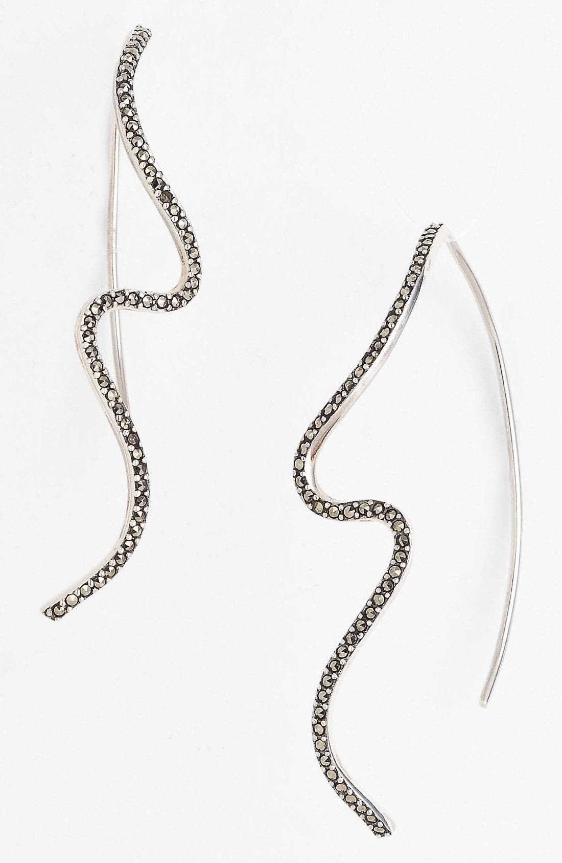 Main Image - Judith Jack 'Fluidity' Linear Earrings