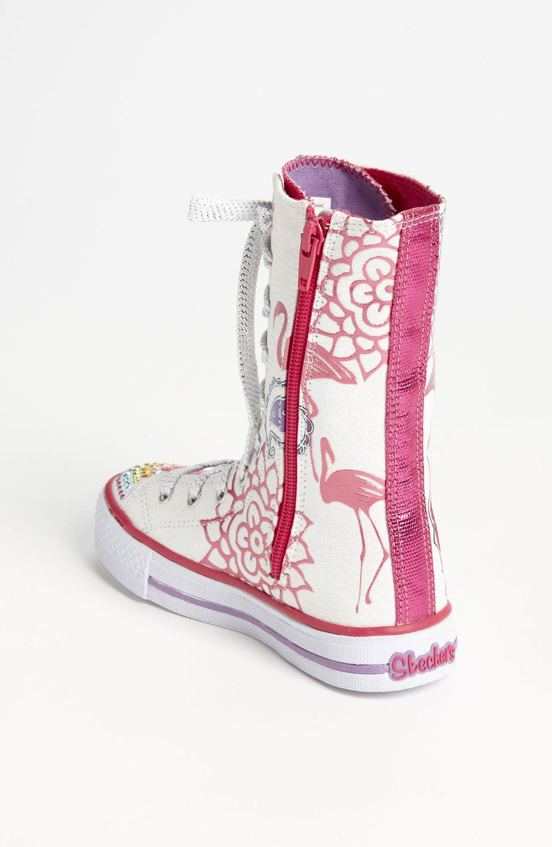Alternate Image 2  - SKECHERS 'Twinkle Toes - Shuffles Mellow Me' Sneaker (Toddler & Little Kid)