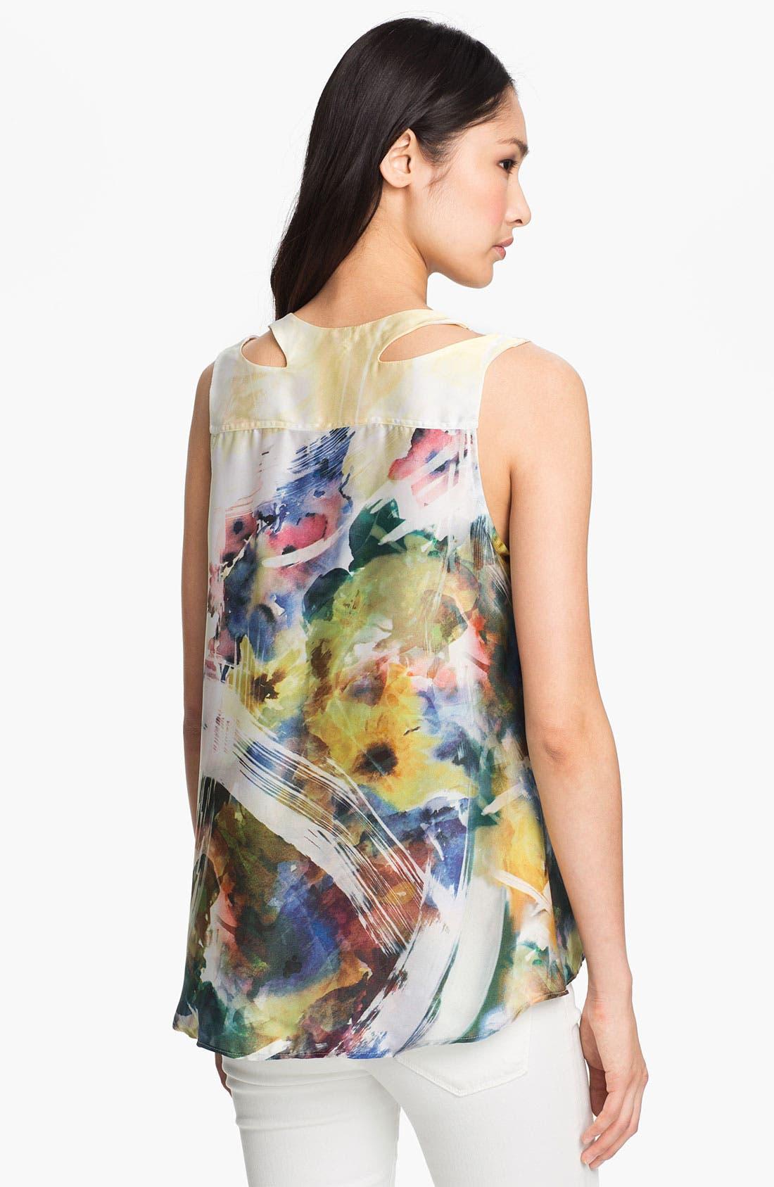 Alternate Image 2  - Kay Celine Digital Floral Print Tank