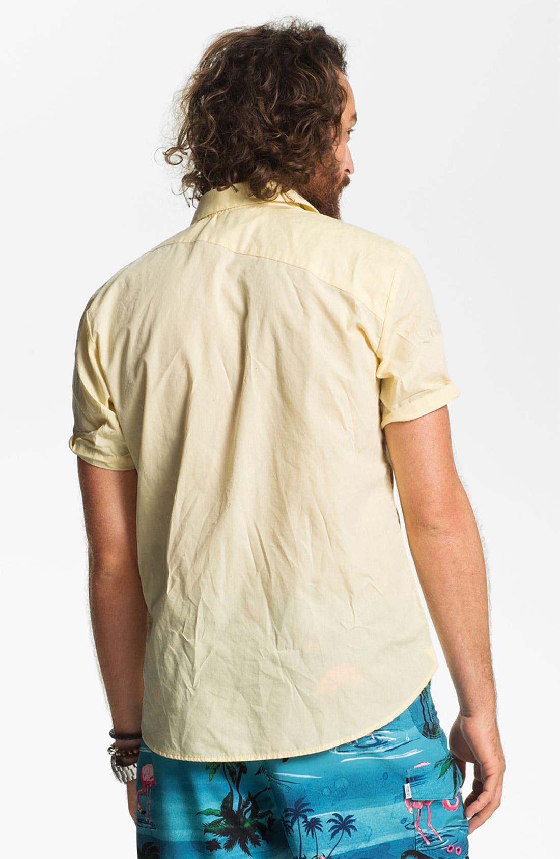 Alternate Image 2  - Volcom 'Why Factor' Woven Shirt