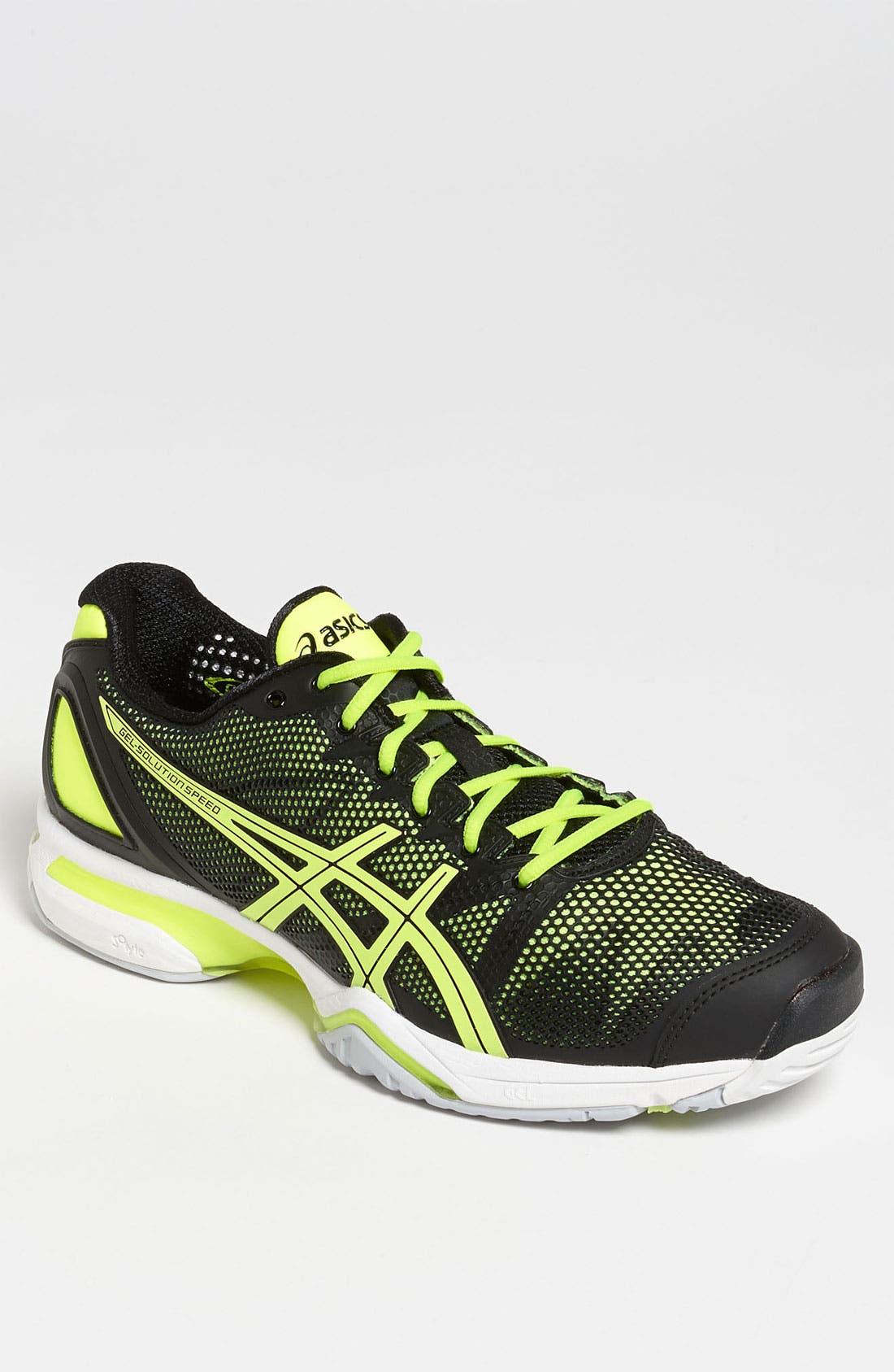 Alternate Image 1 Selected - ASICS® 'GEL-Solution Speed' Tennis Shoe (Men)