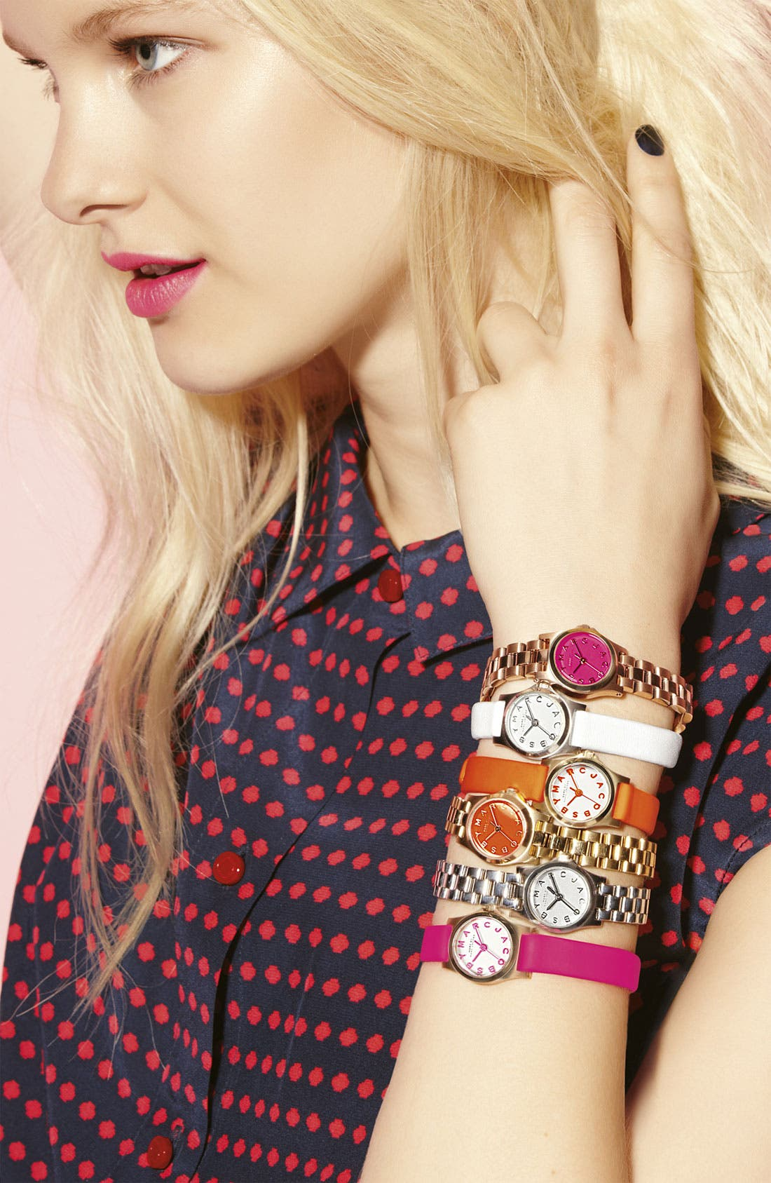 Alternate Image 5  - MARC JACOBS 'Henry Dinky' Bracelet Watch, 20mm