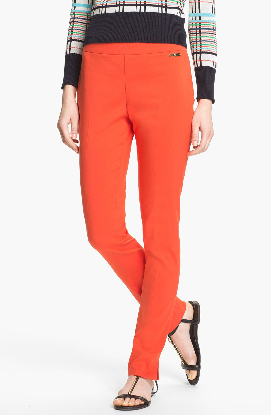 Alternate Image 1 Selected - Tory Burch 'Tabby' Skinny Pants
